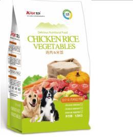 鸡肉米饭幼犬粮销售