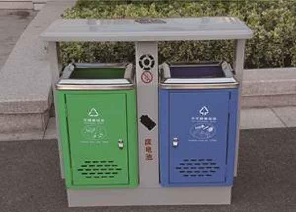 园林分类垃圾桶