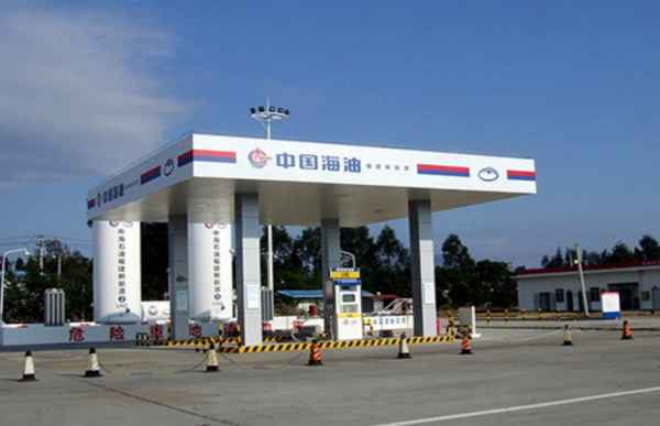北京海油加油站标识安装
