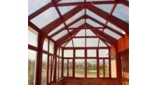 鋁包木陽光房