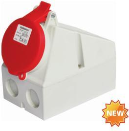防水明装固定插座