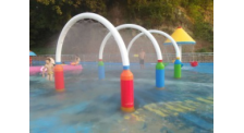 水上乐园戏水小品