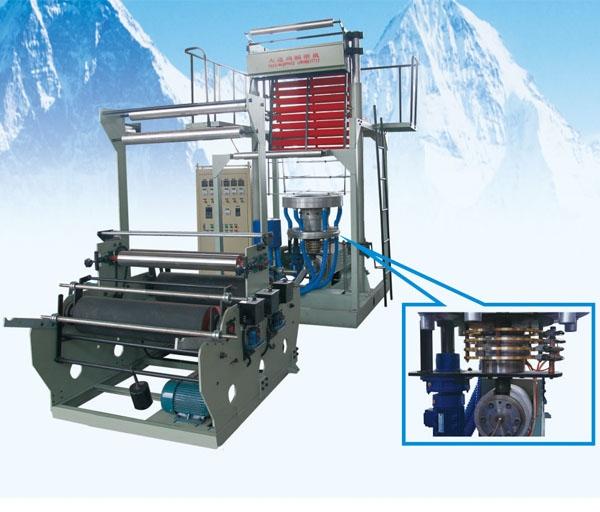 双收吹膜机组生产