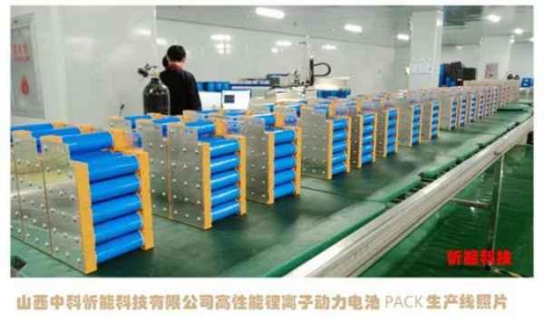 山西动力电池供应