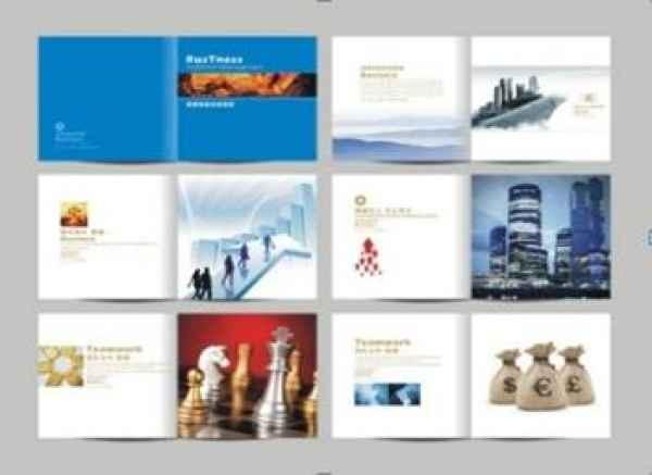 金融宣传品设计