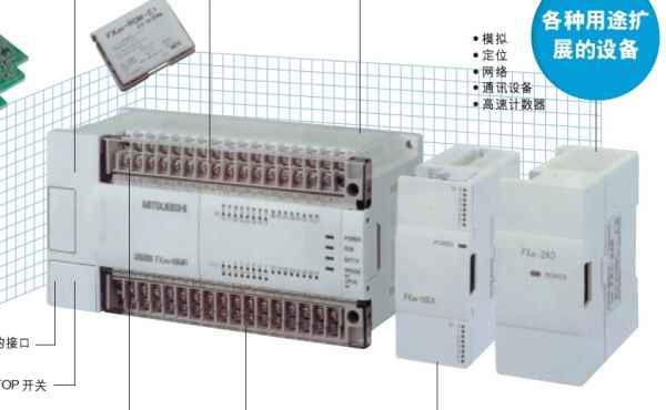 天津三菱PLC模块FX2N型号三菱PLC代理