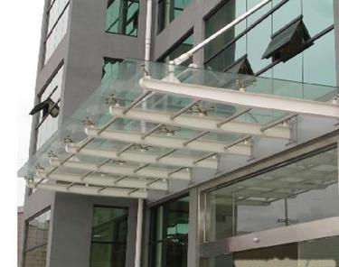 室外钢雨棚供应商