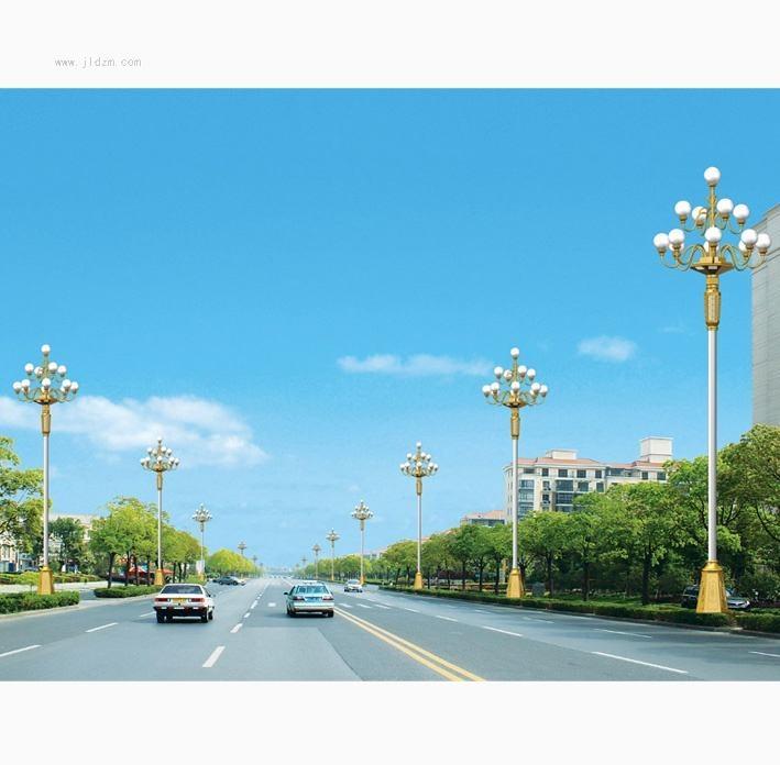 河南景观灯图片