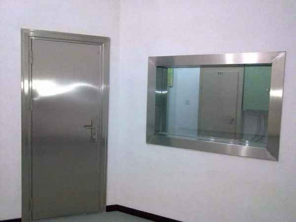 净化双层玻璃窗