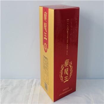 山东白酒包装印刷价格