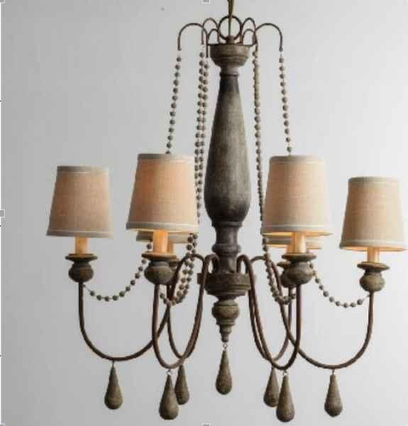 广东欧美风格灯饰|复古创意简约吊灯销售
