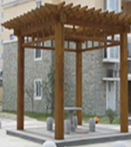 四角亭专业建造