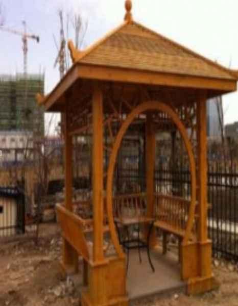 防腐木凉亭设计建造