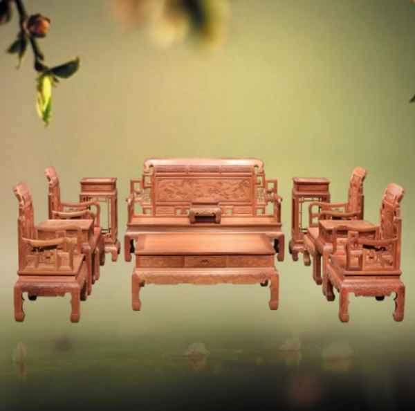 广东红木沙发