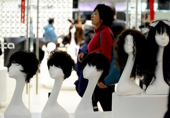大型商超入驻假发品牌