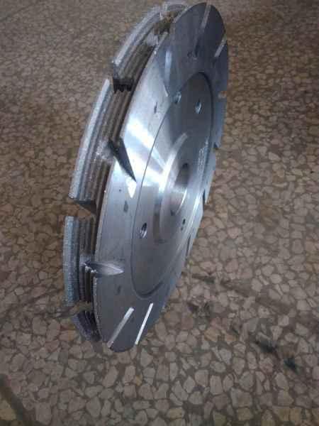 钎焊汽车多锲带磨轮
