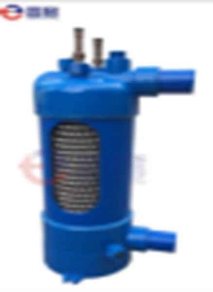 钛螺纹管换热器制造