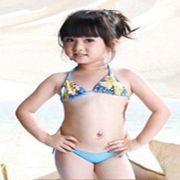 女童比基尼泳衣