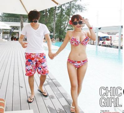 情侣装泳衣沙滩裤