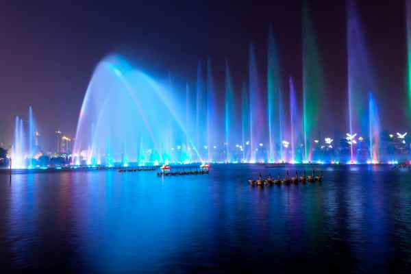 广州喷泉搭建