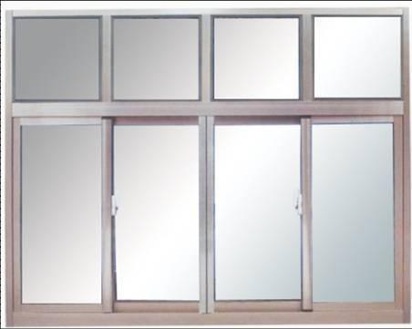 钢质防火推拉窗