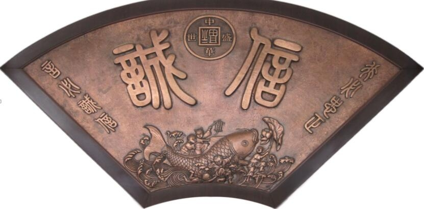 铜门铜壁画铜屏风