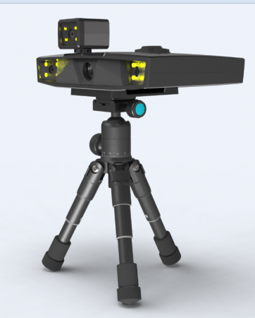 3D扫描仪外观结构设计