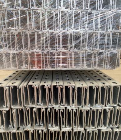 41*41沖孔熱鍍鋅C型鋼