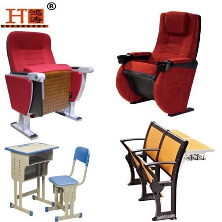 多媒体课桌椅|多媒体教室椅厂家