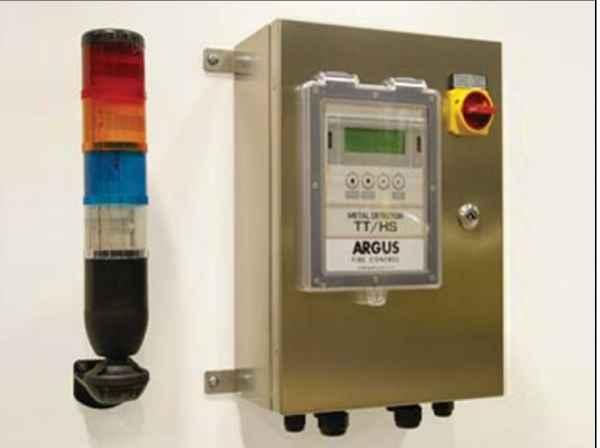 Argus防火系统红外线火花探测器消防系统火花分流系统