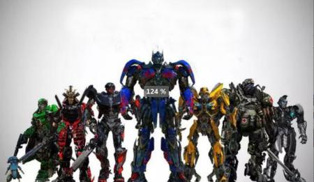 开业期间机器人展