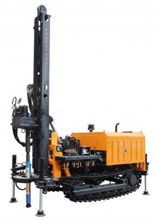 180型地热水井钻机|地热钻井机|180型地热水井专用钻车