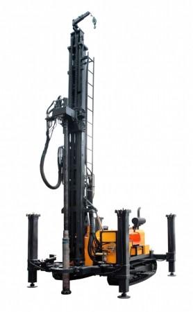 600型地热水井钻机|地热钻井机|600型地热水井专用钻车