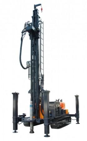 400型地热水井钻机|地热钻井机|400型地热水井专用钻车