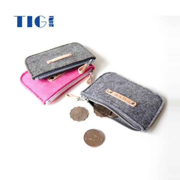 毛毡卡片零钱包