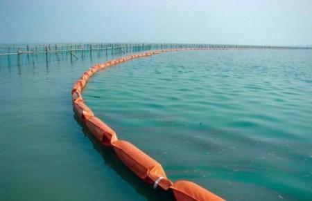 固体浮子式PVC围油栏生产厂家