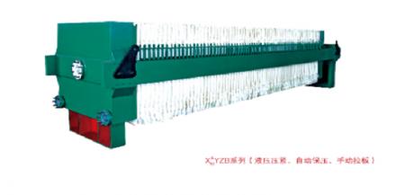 增强聚丙烯板自动拉板系列压滤机