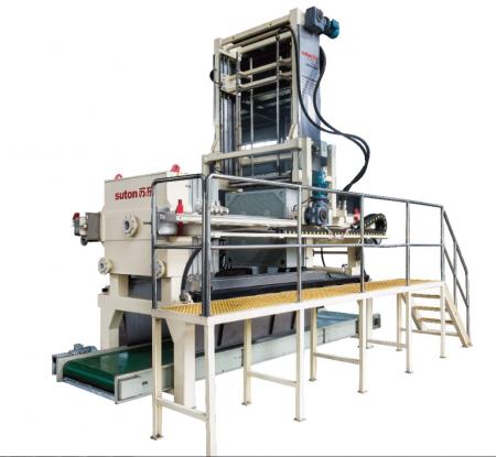 智能冲洗输送型节能高效隔膜压滤机