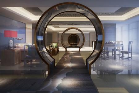 高端中式风格别墅设计