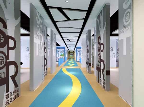 济南现代健身房室内装修联系方式