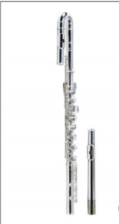 镀银低音长笛
