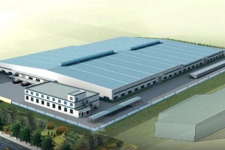 青岛特博尔科技公司厂房设计施工