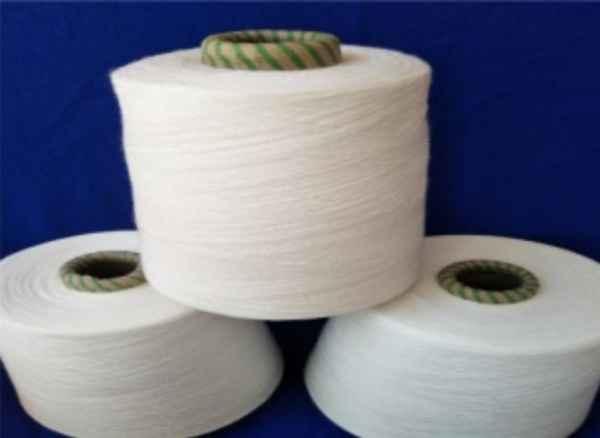 涤棉混纺竹节纱