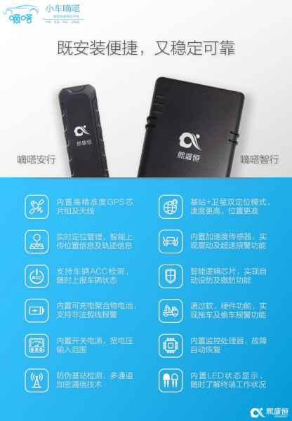 广东小车嘀嗒智能车载硬件