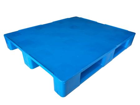 单面川字平板塑料托盘