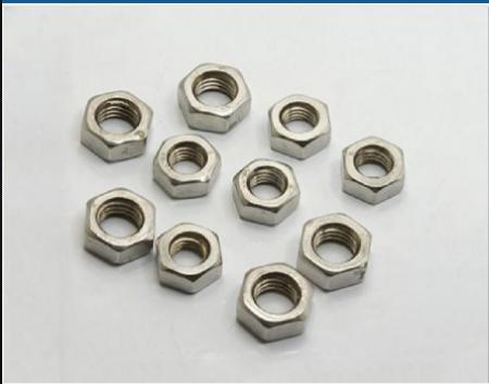 304不锈钢六角螺母