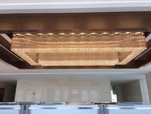 酒店大堂水晶灯