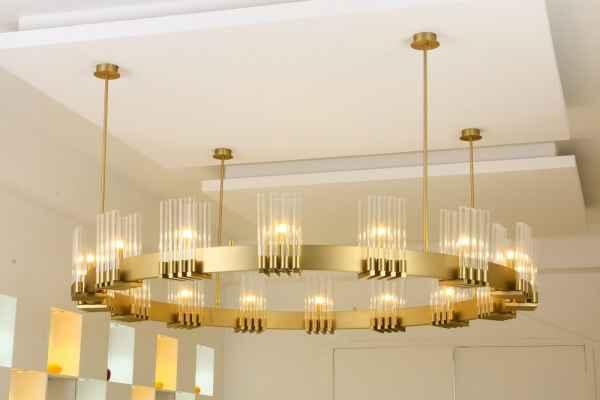 会所灯具设计