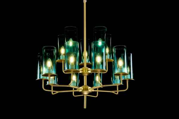 美式玻璃灯具