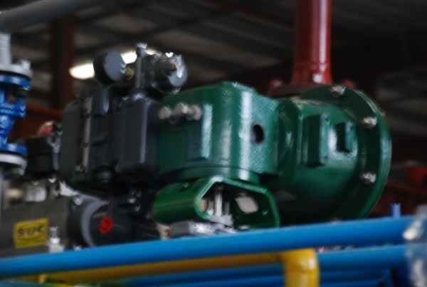 新型轴向可调多通道油气联合燃烧器